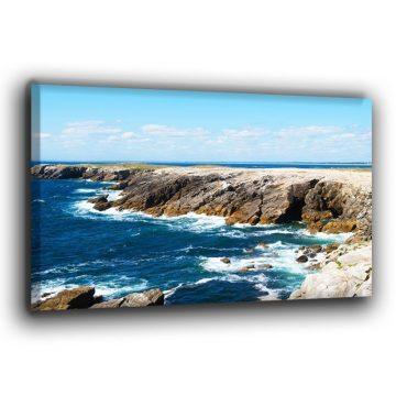 Die Raue Küste Leinwand