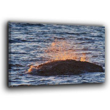 Der Fels in der Brandung Leinwand