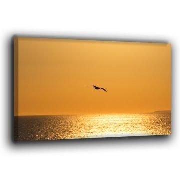 Sonnenuntergang am Atlantik Leinwand